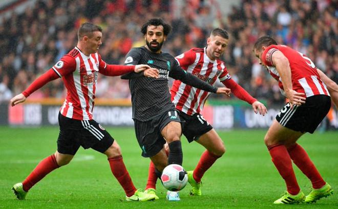 Thắng Sheffield, Liverpool giữ vững ngôi đầu Premier League