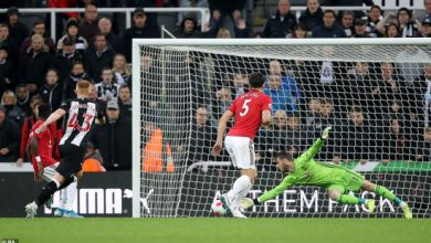 Photo of Thi đấu bạc nhược, M.U thất bại bẽ bàng trước Newcastle
