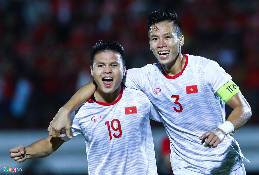 Những cột mốc mới của tuyển Việt Nam sau trận thắng Indonesia
