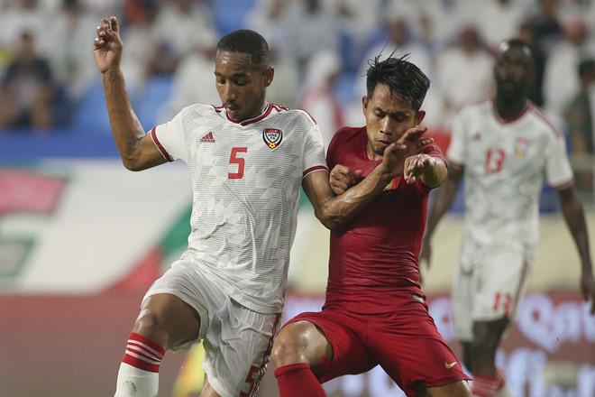 Giải mã thất bại 0-5 của Indonesia trước UAE