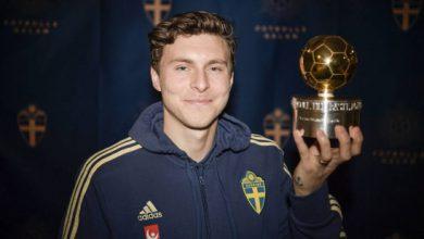 Photo of Lindelof giành quả bóng vàng Thuỵ Điển 2019