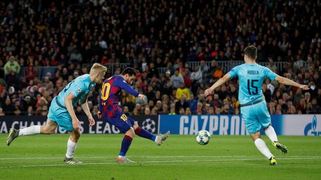 Messi tịt ngòi, Barca bị níu chân ngay tại Camp Nou