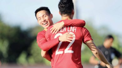 Photo of Tiến Linh lập hattrick, U22 Việt Nam thắng đậm U22 Lào 6-1