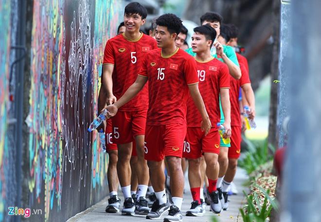 U22 Việt Nam chờ quyết định của BTC SEA Games trước bão Kammuri