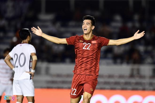 Hạ Campuchia 4-0, U22 Việt Nam vào chung kết SEA Games