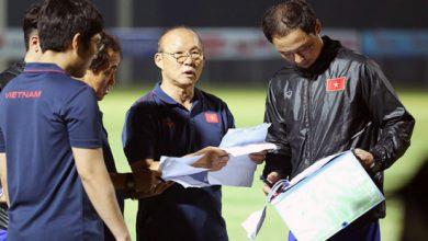 Photo of HLV Park Hang Seo chốt 25 cầu thủ đấu với ĐT Malaysia
